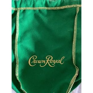 Green Crown Royal Bags 10pc Sets for $20 each!